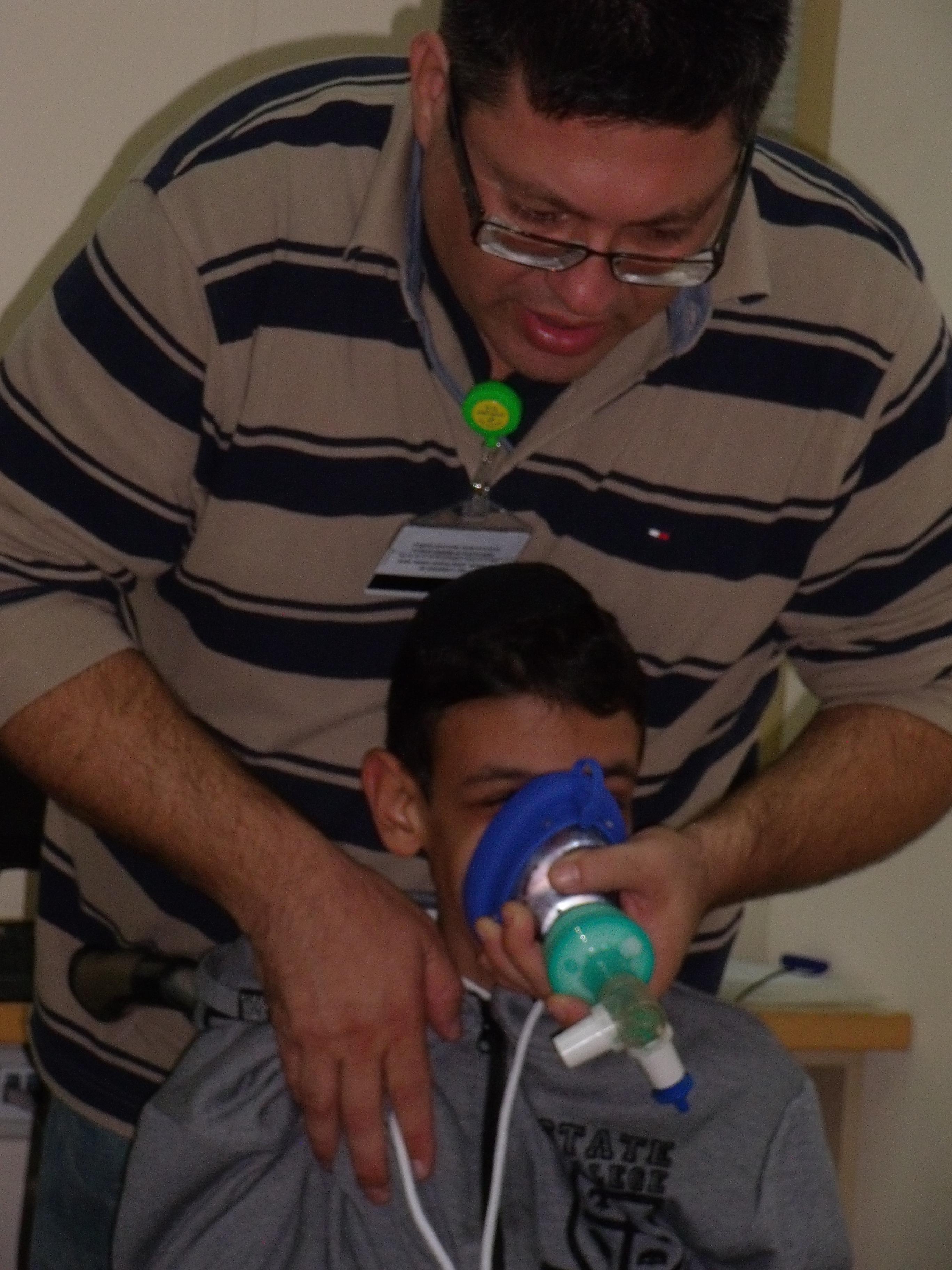 יום הדרכה של פיזיותרפיה נשימתית-30/11/2014