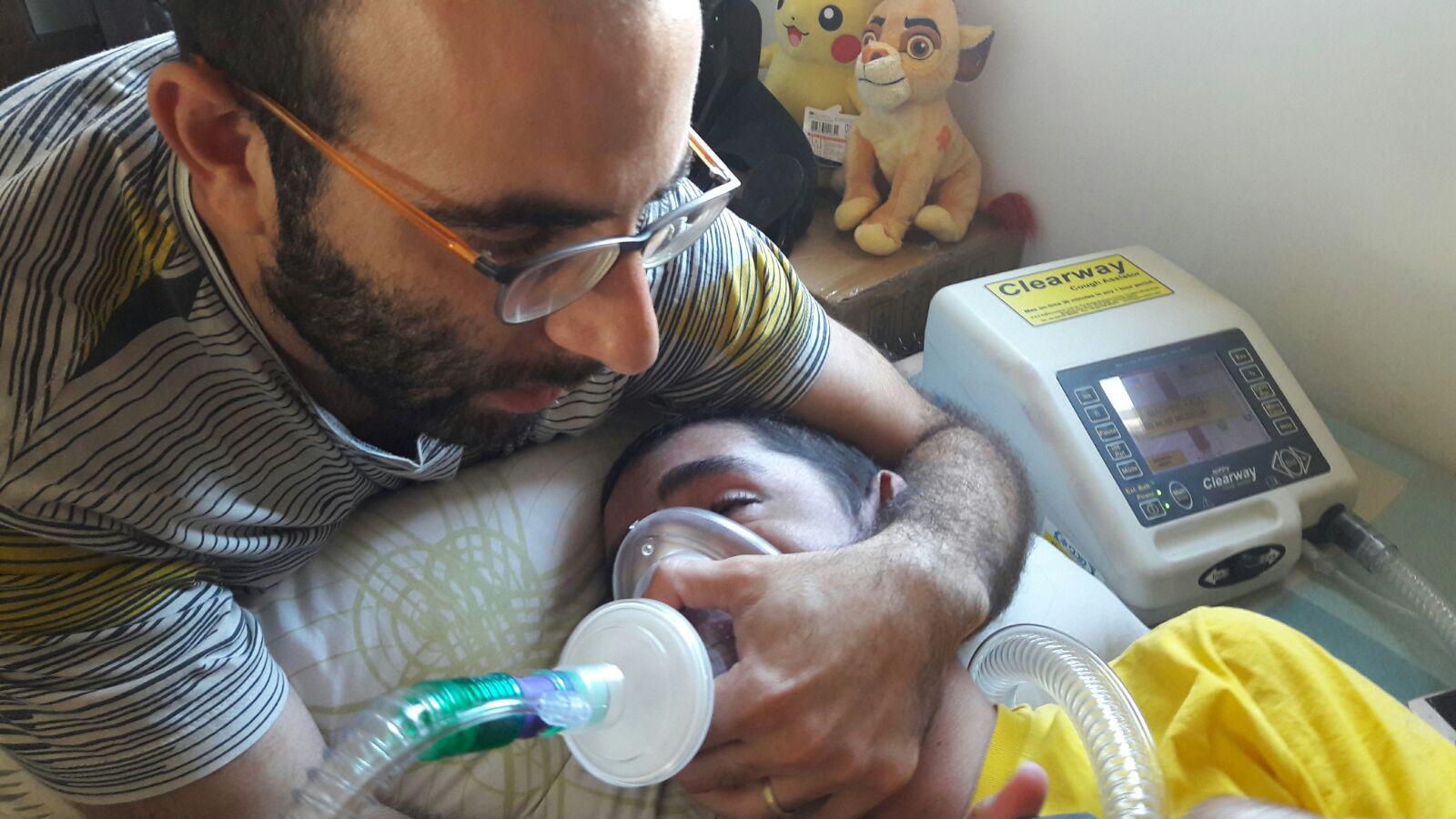 אושרה פיזיותרפיה נשימתית לחולי A-T בסל הבריאות